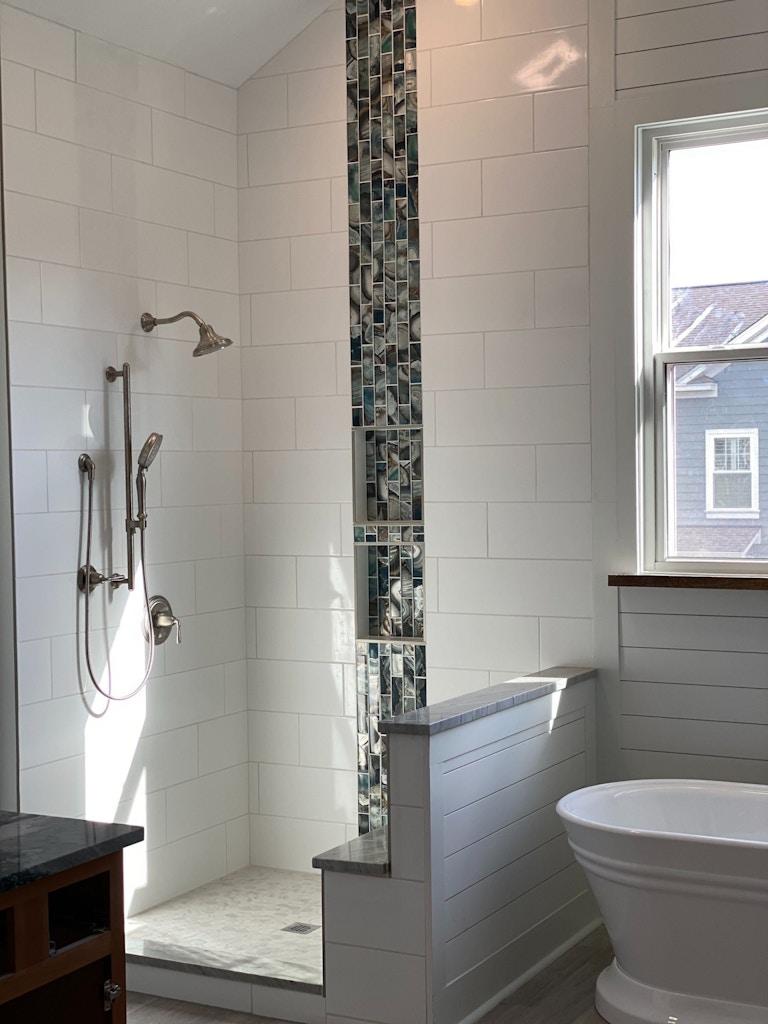 bathroom remodel custom shower charelaston sc