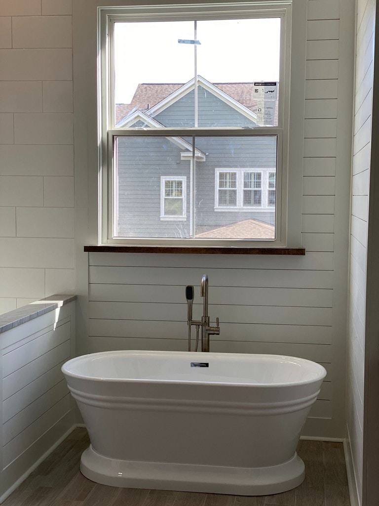 bathroom remodel tub by window charelaston sc