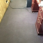carpet cleaning results office after