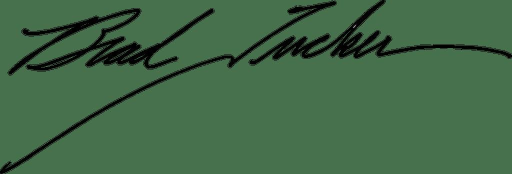 Brad Tucker Signature