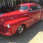 49 Chevrolet Fleetline-front_vintage-car-muffler-brake-service