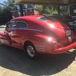 49 Chevrolet Fleetline-rear_vintage-car-muffler-brake-service