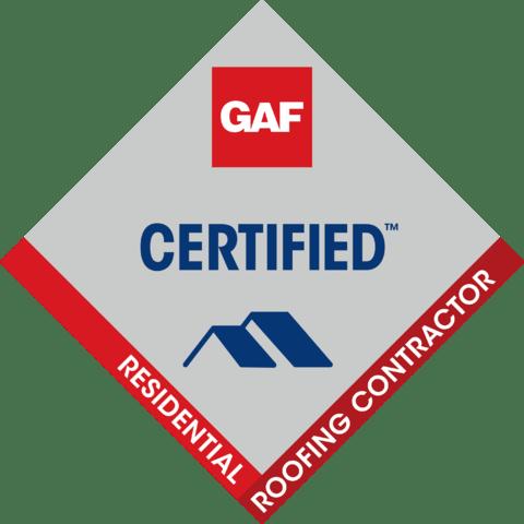 GAF roofing certification
