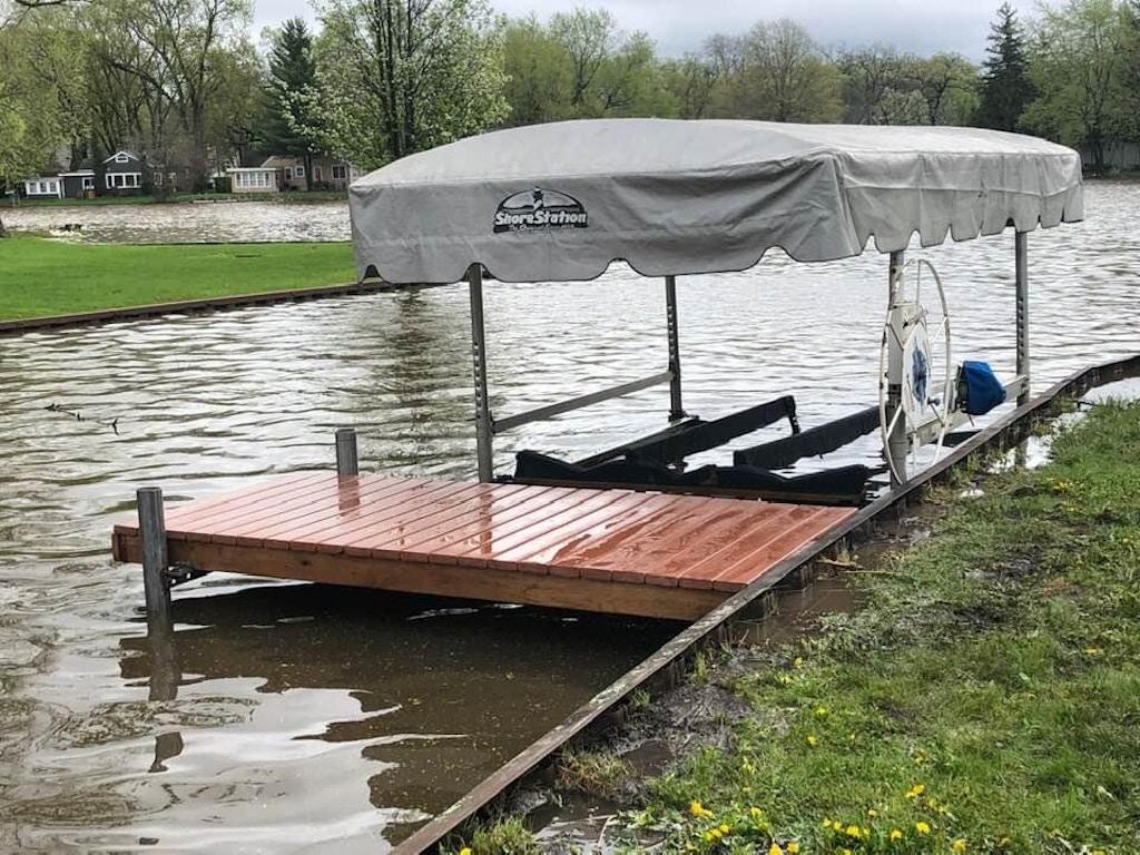 dock and boat lift_wauconda-IL