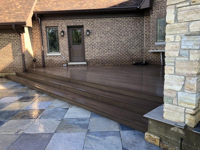 new deck insallation-1_Long Grove, IL