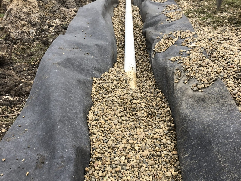 yard drain system_Wonder Lake, IL